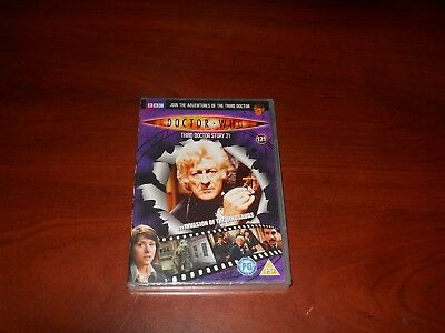 Doctor Who Files DVD 121 Invasion of the Dinosaurs SEALED Jon Pertwee