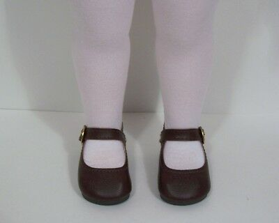 "Debs CHOCOLATE DK BROWN Basic LL Doll Shoes FOR 16/"" 17/"" Sasha"