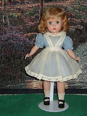 "Vintage Madame Alexander - Hard Plastic Maggie Doll 14"" Missing Tag -Shoes Apart"