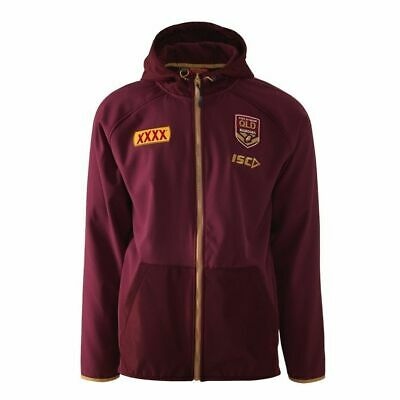 QLD Maroons Origin 2018 ISC Players Tech Pro Hoody Sizes S-5XL!