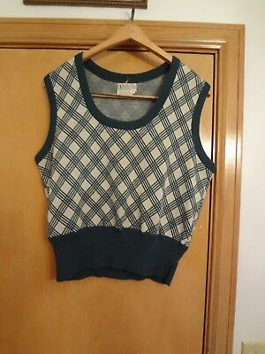J.C. Penneys- Women's Vintage Sweater Vest FREE SHIPPING