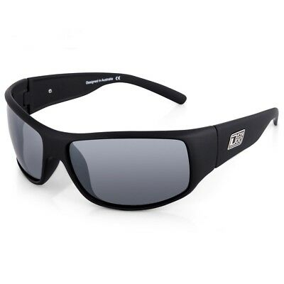 Dirty Dog Snouter Sating Black Polarised Sunglasses - SAVE 60% OFF RRP