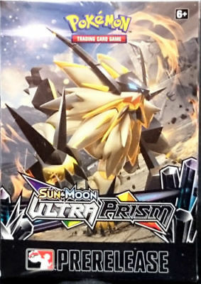Sun & Moon Ultra Prism Prerelease Kit Box Pokemon TCG Factory Sealed