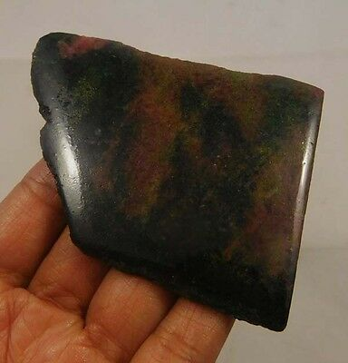 340 Cts. 100% Natural Free Form Rhodonite Slice Rough Specimen (NG774)