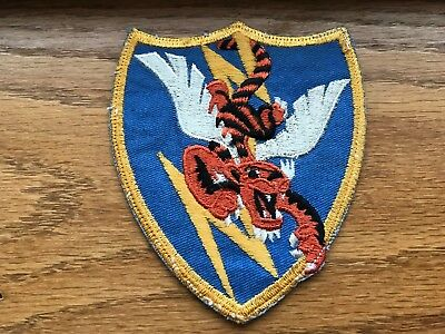 WWII/WW2 US ARMY AIR FORCE PATCH-23rd Fighter Group-ORIGINAL! BEAUTIFUL! USAAF