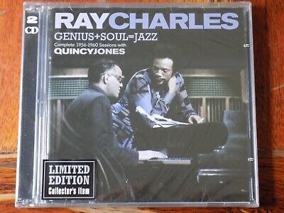 RAY CHARLES - Genius+Soul=Jazz Complete 1956-1960 Session 2 x CD BRAND NEW!