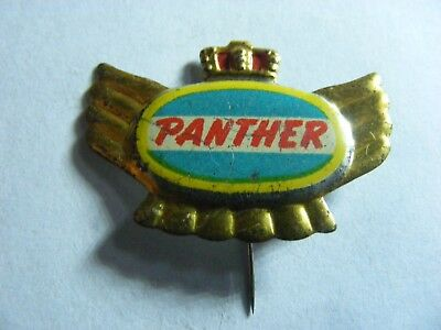 PANTHER motorcycle very old pin badge (B)