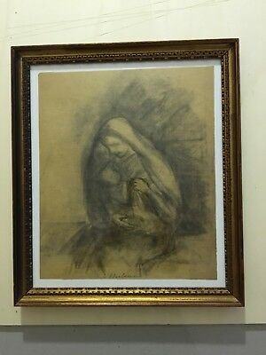Barbisan - Disegno a carboncino