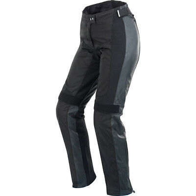 Spidi Teker Ladies Leather Motorcycle Trousers Lady Womens Motorbike CE Armour