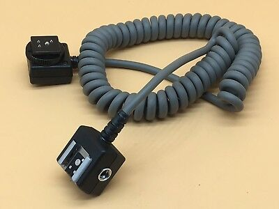 Genuine Nikon SC-17 Curly Flash Extension Cable