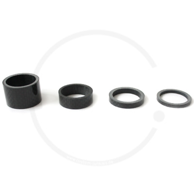 """AHEAD Spacer 1 1/8"""" CARBON 3mm-5mm-10mm-20mm"""