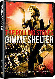 *NEW*  The Rolling Stones - Gimme Shelter (DVD) . FREE UK P+P ..................