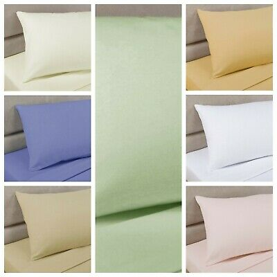 "Bedding Heaven 2' 6"" Percale Fitted Sheet. Bunk Bed, Small Single, Caravan Bed."