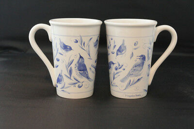 "Hallmark ""Marjolein Bastin"" Bluebird Cups (Set of Two)"