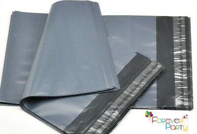 Strong Poly Grey Mailing Bags Postage Postal Quality Self Seal Parcel 60 MICRON