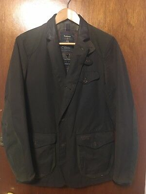 Rare Barbour Dept. (B) Commander Jacket waxed canvas Skyfall James Bond SM Small