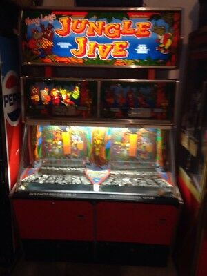 Jungle Jive Coin Pusher Works 2 Player