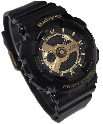 b4e15ae891 CASIO BABY-G LADIES Womens Watch BA-110TP-2 Tribal Pattern Analogue ...