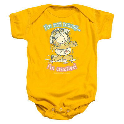 Garfield Comic Cat SNOW FUN Licensed Infant Snapsuit S-XL