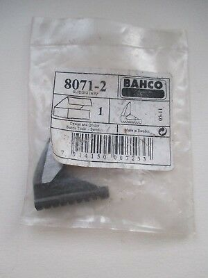 "8071 - 2  Bahco Spare Sliding Jaw 8"" Adjustable Spanner / Wrench New In Packet"