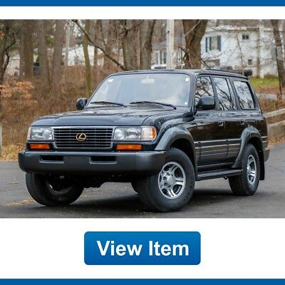 1997 Lexus LX Base Sport Utility 4-Door 1997 Lexus LX450 LX 450 4WD Land Cruiser 4WD Serviced CARFAX California!