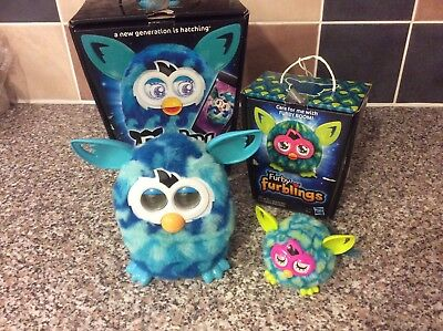 Furby Boom and Furbling in original boxes