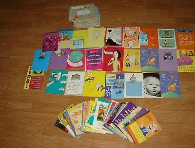 New lot of 115 fun mix greeting cards with envelopes valued $378