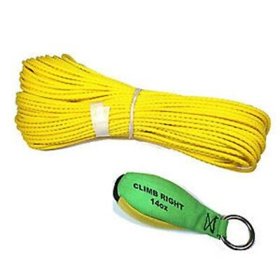 Climb Right Throw Weight & Line Kit 14oz Weight 150' Rope 36002 Spyder Arborist
