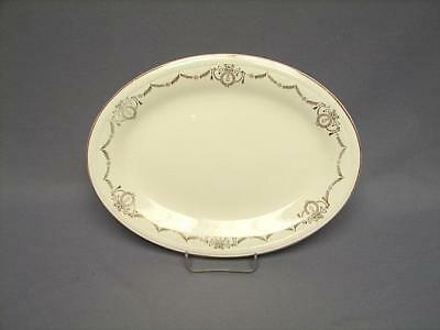 "Save 50% On  Vintage ""adams"" 11 1/2"" Oval Serving Platter Edwin M. Knowles"