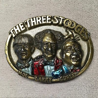 The Three Stooges Belt Buckle.