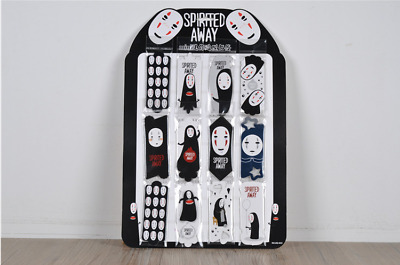 Spirited Away No Face Man Card Paper Bookmark x 12 Different Design