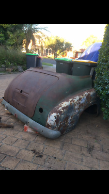 Holden FX 48 215 Rear Cut,To Make Lounge With Bumper Bar, Boot Lid, man cave