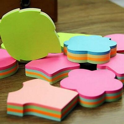 100 Pages/set Multicolor Sticky Notes Memo Pads Sticker Post It Bookmark Marker