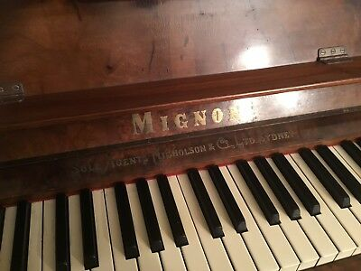 Upright Mignon Piano (Germany)