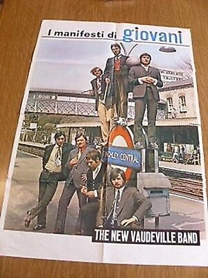 Poster - The New Vaudeville Band - Giovani