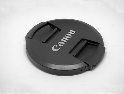 LC77  Premium Centre Pinch Front Lens Cap for CANON 77mm filter thread UK STOCK