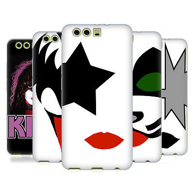 Official Kiss Band Solo Soft Gel Case For Huawei Phones