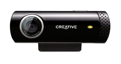 Webcam Creative Live HD Cam Live Chat Skype Video with Built in Noise Cancellin