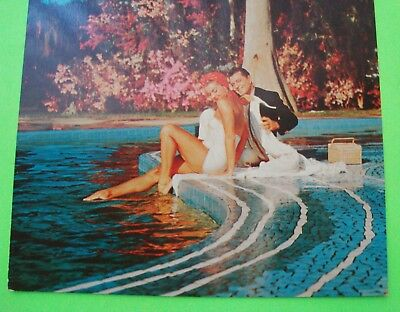 """ESTHER WILLIAMS AT CYPRESS GARDENS FL 1953 from EASY TO LOVE Giant 6.5""""x9"""" P/C"""