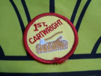 Scouts Canada group badge/patch 1st Cartwright