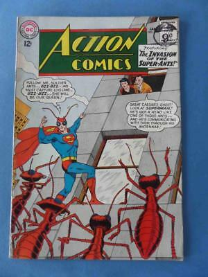 Action Comics 296 1963 Invasion Of The Super-Ants! Supergirl! Fn/+