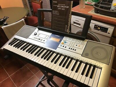 YAMAHA PSR E323 digital keyboard