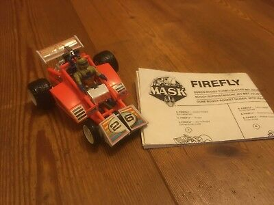 FIREFLY - MASK M.A.S.K. mit Anleitung/Manual & Figur