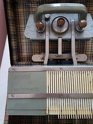 Miracle Knitter Automatic-Necchi-Elna-1950's-Vintage