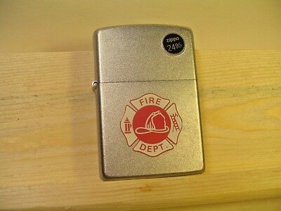 Zippo Fire Department '',  Satin, New old stock