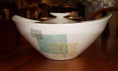 Rare 1959 Knowles Four Seasons Washington Square Covered Serving dish Casserole