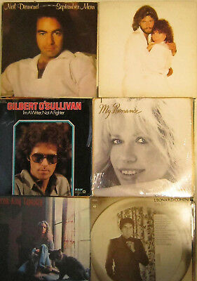 LP lot / Schallplatten Sammlung Singer- Songwriter & Softrock
