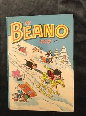 The Beano Book / Annual 1975 - Lovely Condition Vintage D.C.Thomson Full Spine