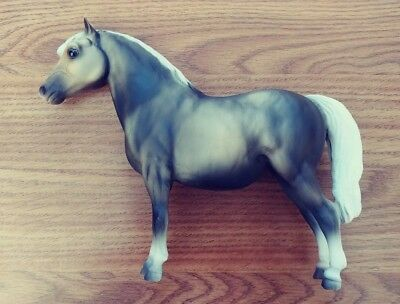 Breyer Traditional Shaded Rose Grey Shetland Pony #741 1998-1999
