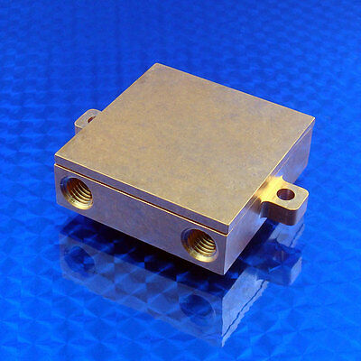 Solid Copper water block liquid exchanger cold plate CNC machined CPU cooling